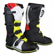 Shot X10 2.0 MX Boots Black/Red/White/yellow